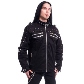 Herren Jacke Frühling/Herbst - GASTON - CHEMICAL BLACK, CHEMICAL BLACK