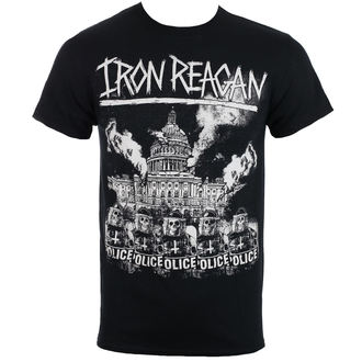 Herren T-Shirt Metal Iron Reagan - Capital Police - Just Say Rock, Just Say Rock, Iron Reagan