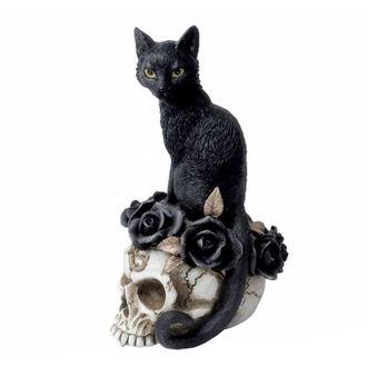 Dekoration ALCHEMY GOTHIC - Black Cat & Skull, ALCHEMY GOTHIC