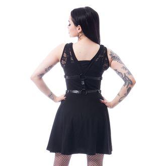 Damen Kleid POIZEN INDUSTRIES - BLACK, POIZEN INDUSTRIES