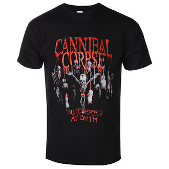 Herren T-Shirt Cannibal Corpse  - Butchered At Birth - PLASTIC HEAD, PLASTIC HEAD, Cannibal Corpse