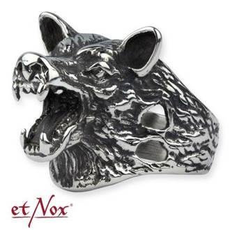 Ring ETNOX - Wolf Head, ETNOX
