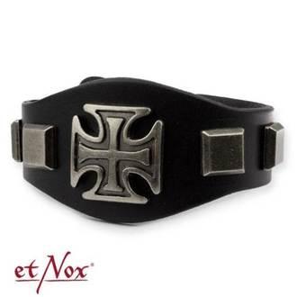 Armband ETNOX - Iron Cross and Studs, ETNOX