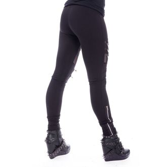 Damen Leggings Chemical Black - INKA - SCHWARZ, CHEMICAL BLACK