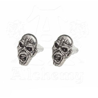 Ohrringe Iron Maiden - Eddie Head - ALCHEMY GOTHIC, ALCHEMY GOTHIC, Iron Maiden