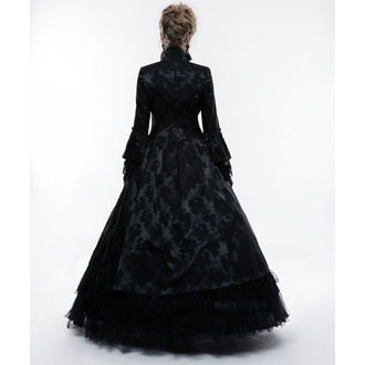 Damen Mantel PUNK RAVE - Black Ruby Gothic ball, PUNK RAVE