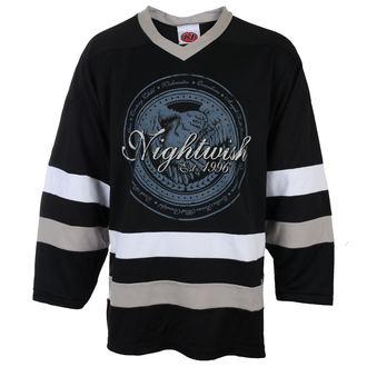 Herren Metal Trikot Nightwish - OWL - LOGO 96 BLK / WHT - Just Say Rock, Just Say Rock, Nightwish