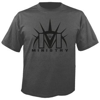 Herren T-Shirt Metal Ministry - Logo GREY - NUCLEAR BLAST, NUCLEAR BLAST, Ministry