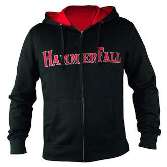Damen Hoodie  mit Reißverschluss Hammerfall - Hammered DELUXE Girlie ZIP HOOD - HSW - 157995, NUCLEAR BLAST, Hammerfall