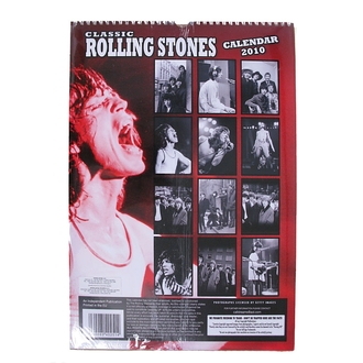 Kalender   2010, Rolling Stones