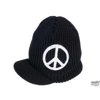 Strickbeanie mit Schirm  Peace 1