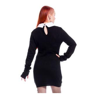 Damen Kleid Poizen Industries - LATE WEDNESDAY - SCHWARZ, POIZEN INDUSTRIES