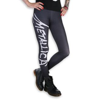 Damen Leggings - Metallica - Logo - Schwarz / Weiß, PAMELA MANN