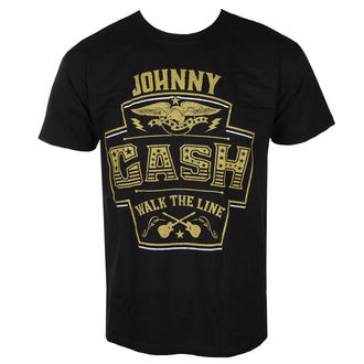 Herren T-Shirt Metal Johnny Cash - LABEL - LIVE NATION, LIVE NATION, Johnny Cash