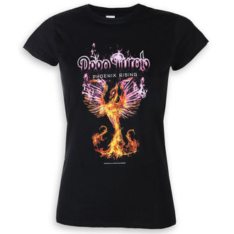 Damen T-Shirt Metal Deep Purple - Phoenix Rising - LOW FREQUENCY, LOW FREQUENCY, Deep Purple