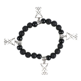 Armband Luciferothica - black & silver, LUCIFEROTHICA