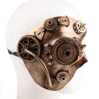 Maske ZOELIBAT - Steampunk-Halbmaske, ZOELIBAT