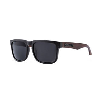 Sonnenbrille MEATFLY - MEMPHIS - D - 4/17/55 - Schwarzes Holz, MEATFLY