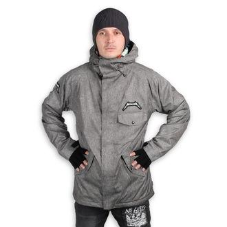 Winter Metal Jacke (Snowboardjacke ) METALLICA x SESSIONS