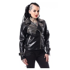 Damen Lederjacke - MINISTRY - HEARTLESS