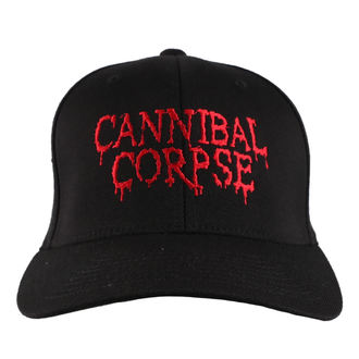 Cap CANNIBAL CORPSE - RED - JSR, Just Say Rock, Cannibal Corpse