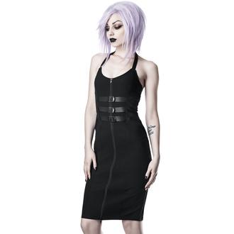 Damen Kleid KILLSTAR - Modulate Midi - SCHWARZ - KSRA001635