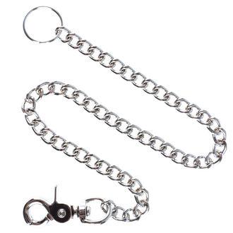 Hosenkette Silber - 50cm, MAGER