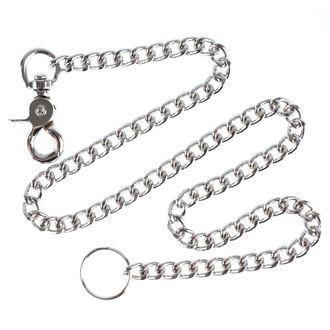 Hosenkette Silber - 75cm, MAGER