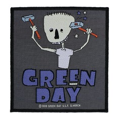 Aufnäher GREEN DAY - HAMMER FACE - RAZAMATAZ, RAZAMATAZ, Green Day