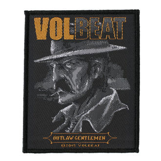 Aufnäher VOLBEAT - OUTLAW GENTLEMEN - RAZAMATAZ, RAZAMATAZ, Volbeat