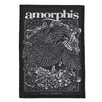 Patch Aufnäher Amorphis - Circle Bird - RAZAMATAZ, RAZAMATAZ, Amorphis