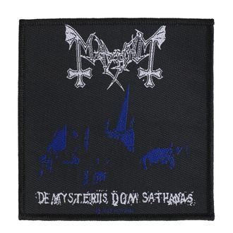 Patch Aufnäher Mayhem - De Mysteriis Dom Sathanas - RAZAMATAZ, RAZAMATAZ, Mayhem