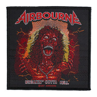 Patch Aufnäher Airbourne - Breakin Outa Hell - RAZAMATAZ, RAZAMATAZ, Airbourne