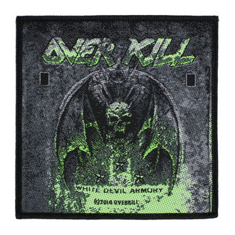 Patch Aufnäher Overkill - White Devil Armory - RAZAMATAZ, RAZAMATAZ, Overkill