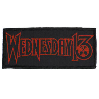 Patch Aufnäher Wednesday 13 - Logo - RAZAMATAZ, RAZAMATAZ, Wednesday 13
