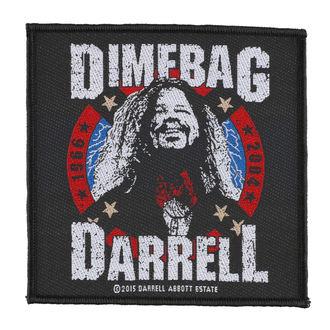 Aufnäher DIMEBAG DARRELL - 1968-2004 - RAZAMATAZ, RAZAMATAZ, Dimebag Darrell
