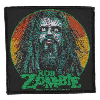 Aufnäher ROB ZOMBIE - ZOMBIE FACE - RAZAMATAZ, RAZAMATAZ, Rob Zombie