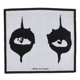 Aufnäher ALICE COOPER - THE EYES - RAZAMATAZ, RAZAMATAZ, Alice Cooper