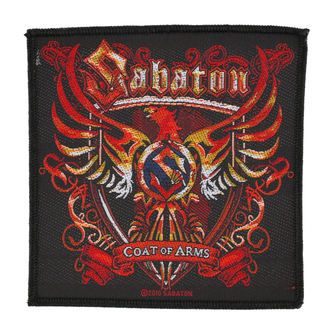 Aufnäher SABATON - COAT OF ARMS - RAZAMATAZ, RAZAMATAZ, Sabaton