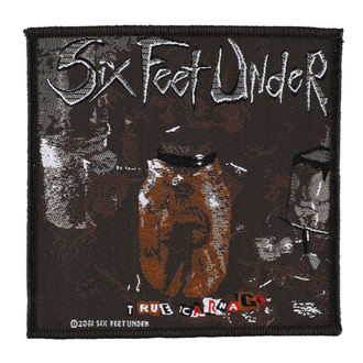 Aufnäher SIX FEET UNDER - TRUE CARNAGE - RAZAMATAZ, RAZAMATAZ, Six Feet Under