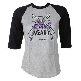 Damen T-Shirt Street - BH SHOT GUN - BLACK HEART, BLACK HEART