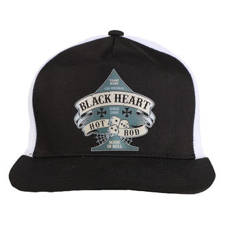 Cap BLACK HEART - BELL - WEISS, BLACK HEART