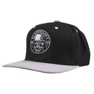 Cap BLACK HEART - BABY BOY - SCHWARZ, BLACK HEART