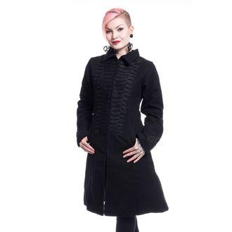 Damen Mantel POIZEN INDUSTRIES - NIGHT PARADE - SCHWARZ, POIZEN INDUSTRIES