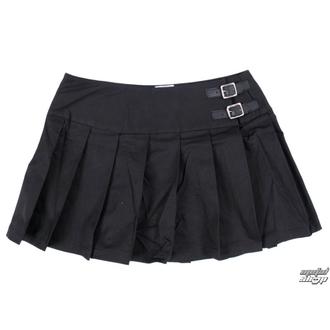 Rock Damen Black Pistol - Buckle Mini Denim - Black - B-2-48-001-00