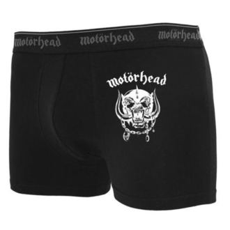 Kurze Herren Boxershorts (Set 2 Stück) Motörhead - Logo, URBAN CLASSICS, Motörhead