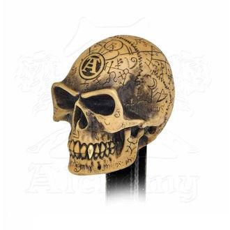 Schaltknauf Knopf ALCHEMY GOTHIC - Omega Skull, ALCHEMY GOTHIC
