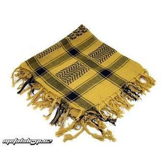 Schal ARAFAT - Palästinenser Schal - dark yellow 1