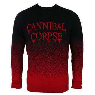 Herren Pullover CANNIBAL CORPSE - DRIPPING LOGO - PLASTIC HEAD, PLASTIC HEAD, Cannibal Corpse