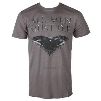 Herren T-Shirt Metal Game of Thrones - ALL MEN MUST DIE - PLASTIC HEAD, PLASTIC HEAD